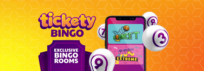 tickety bingo banner