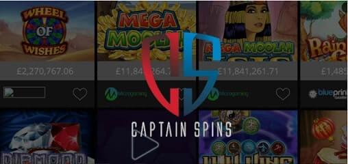 captain spins casino logo canada