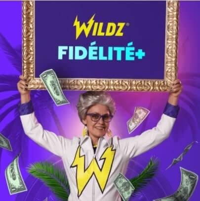 wildz casino système de fidélité canada