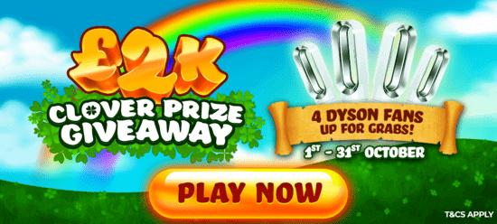 winbritish 2k clover prize giveaway banner