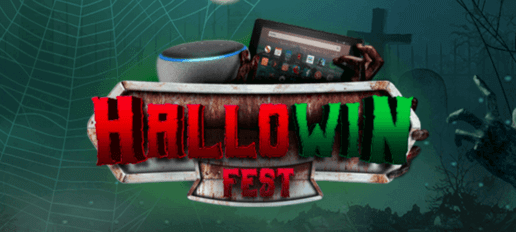 hallowin fest banner at mfortune casino
