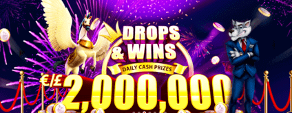 SlotWolf Casino's Drops & Wins