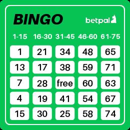 Le bingo à 75 boules