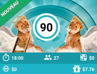 bingo en ligne argent reel: Lions in Heaven