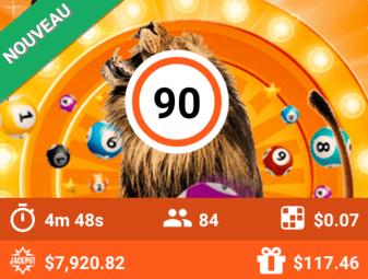 bingo en ligne argent reel: Lion's Roar