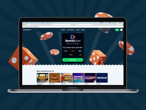 speedyspel casino homepage