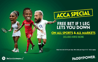 acca promotion paddypower