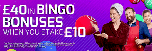 betfred bingo offer