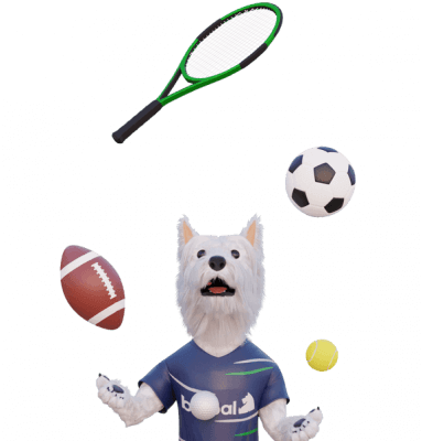 betpal mascot dog sports