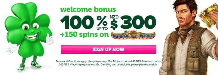 casino luck welcome bonus