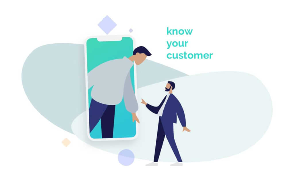 know your customer graphic