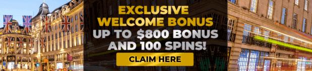 welcome bonus at regent casino NZ