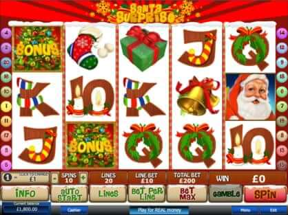 santa surprise slot game