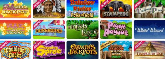 Example of Jackpot Slots at Target Slots Casino