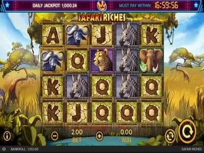 safari riches slot game
