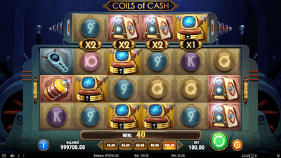 Coils of Cash Pokie