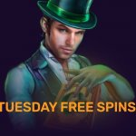 tuesday free spins dux casino
