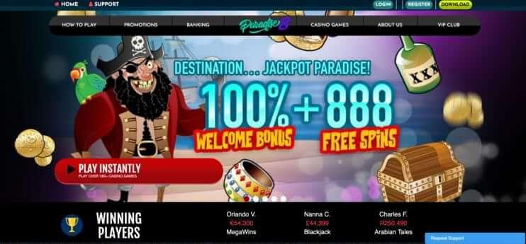 paradise 8 casino