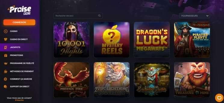 praise casino canada 2
