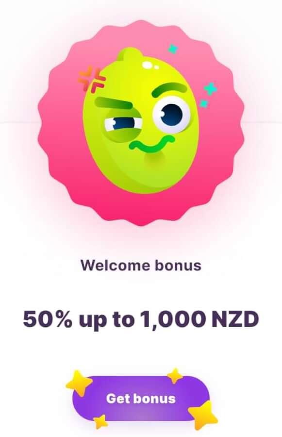 welcome bonus at nomini