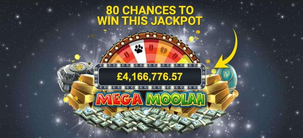 zodiac mega moolah jackpot